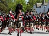 The Atholl Highlanders Parade
