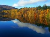 Lac Tummel, Pitlochry, Perthshire, Ecosse